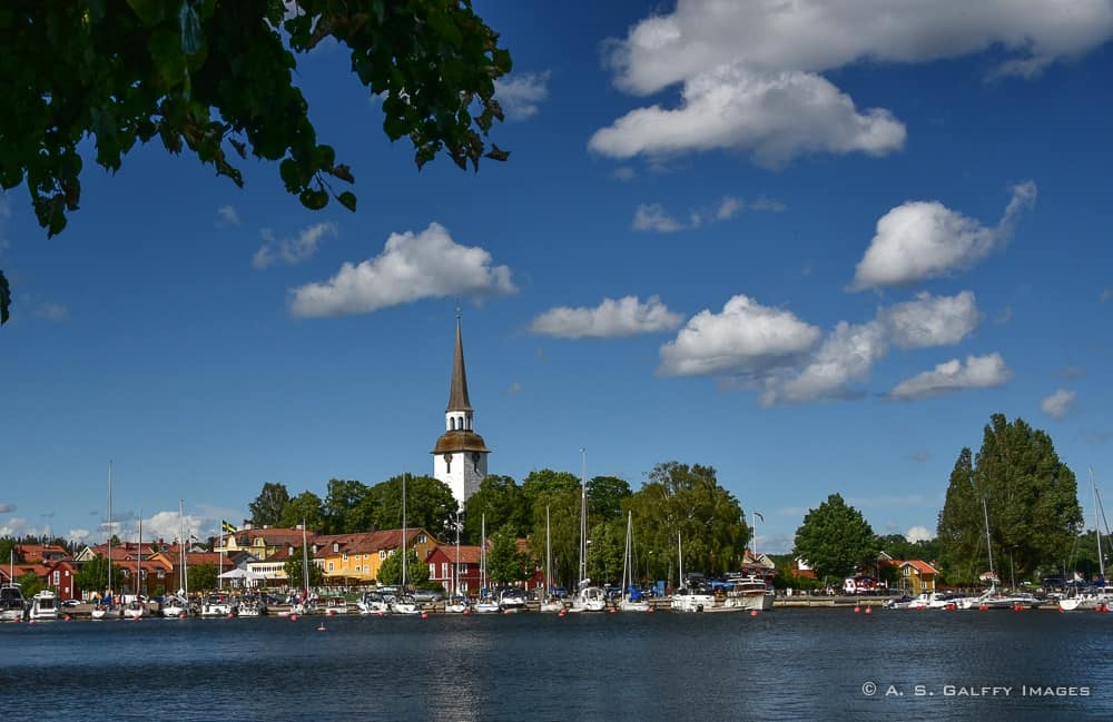 Mariefred town - a day trip from Strängnäs