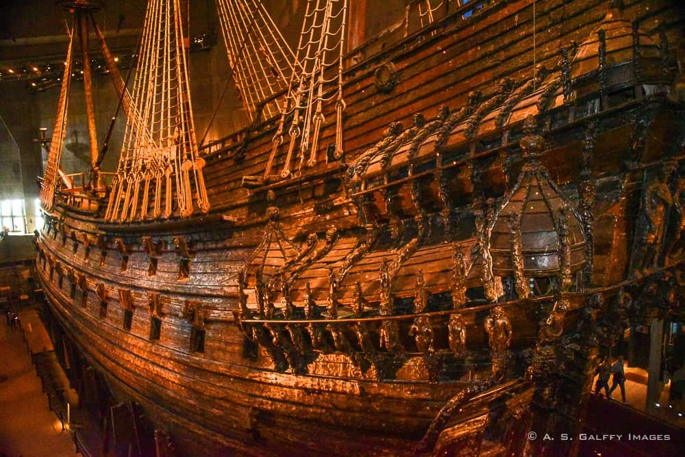 Vasa, the Swedish Navy Ship That Never Sailed