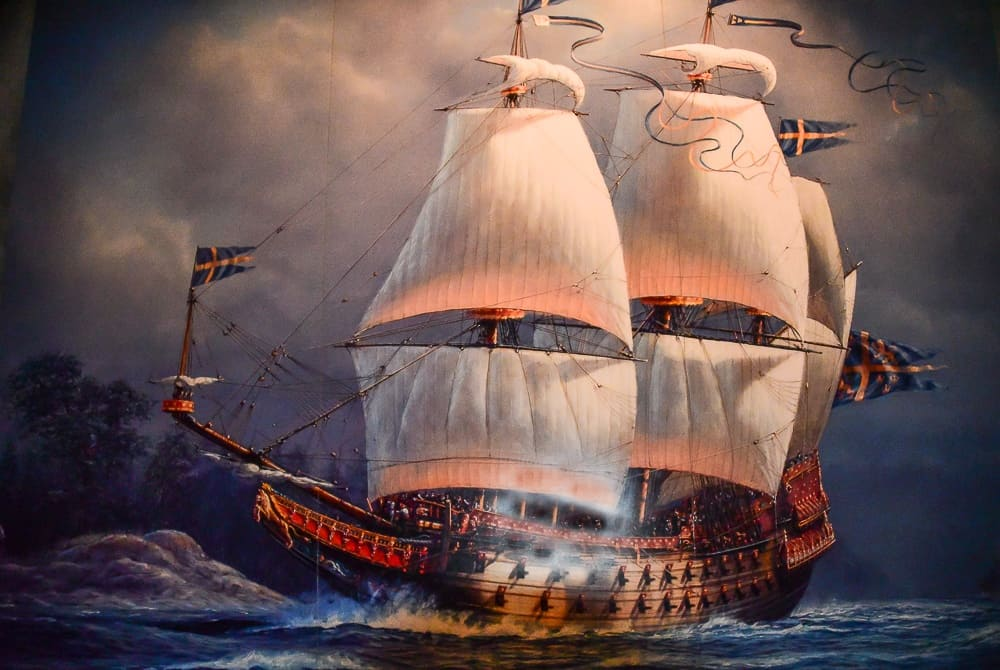 Picture of the Vasa Ship