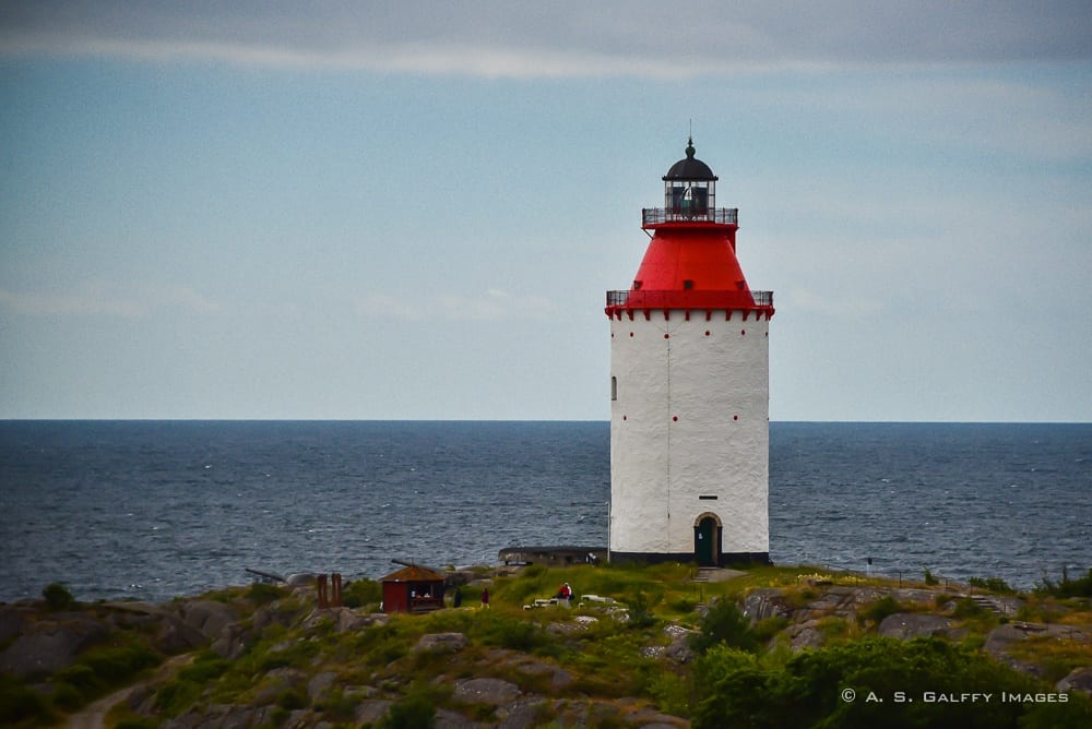 the oldest lighthouse in Sweden - day trips from Stockholm