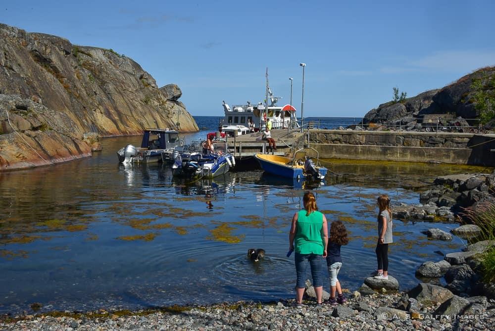 the port of Landsort