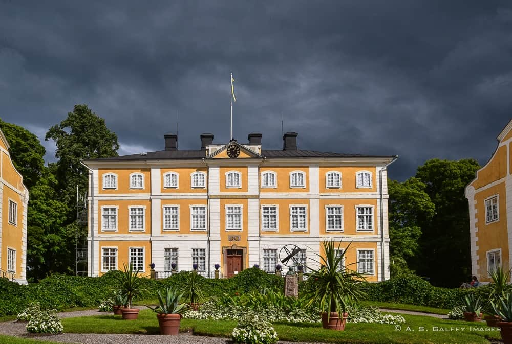 view of Julita Manor - day trips from Stockholm