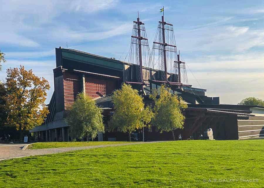 The Vasa Ship Museum in Stockholm