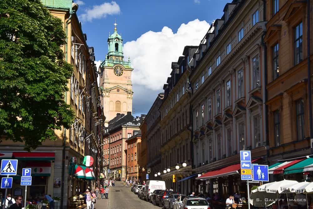 Street in Stockholm's Old Town