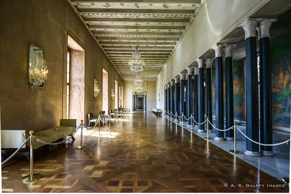 The Prince's Gallery at the Stockholm City Hall