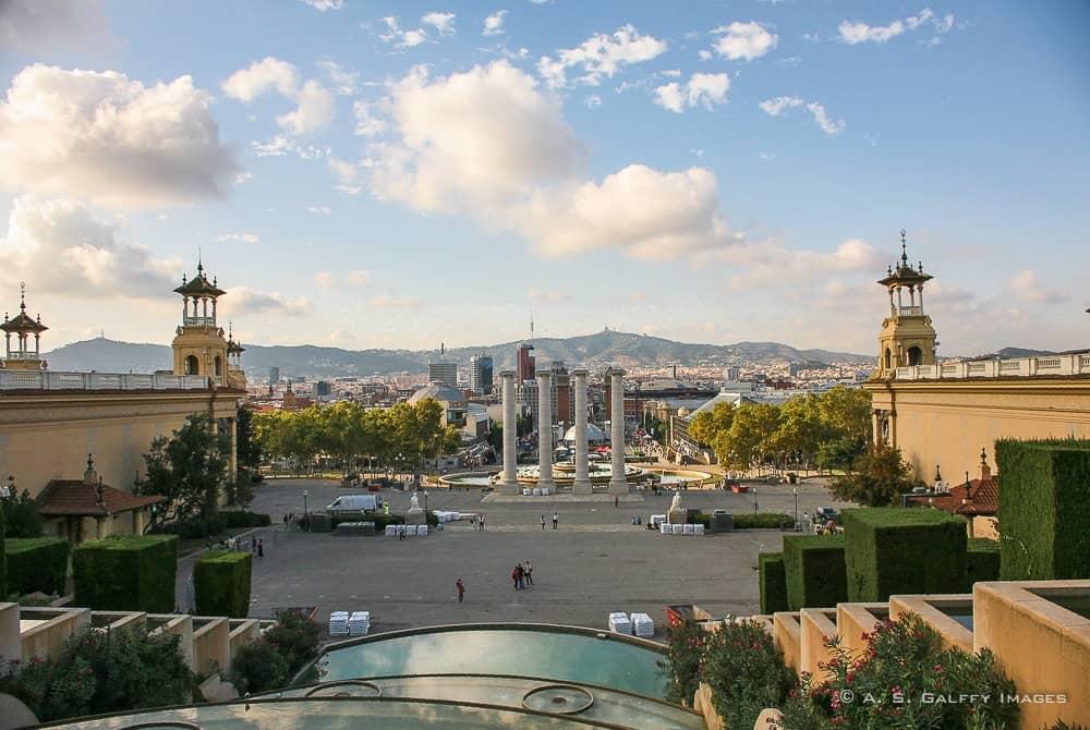 Beautiful European cities - Barcelona