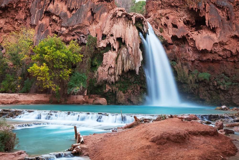 Havasupay Canyon Waterfall