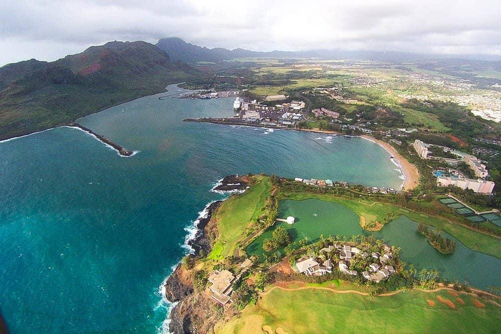 Kauai activities: take a helicopter tour
