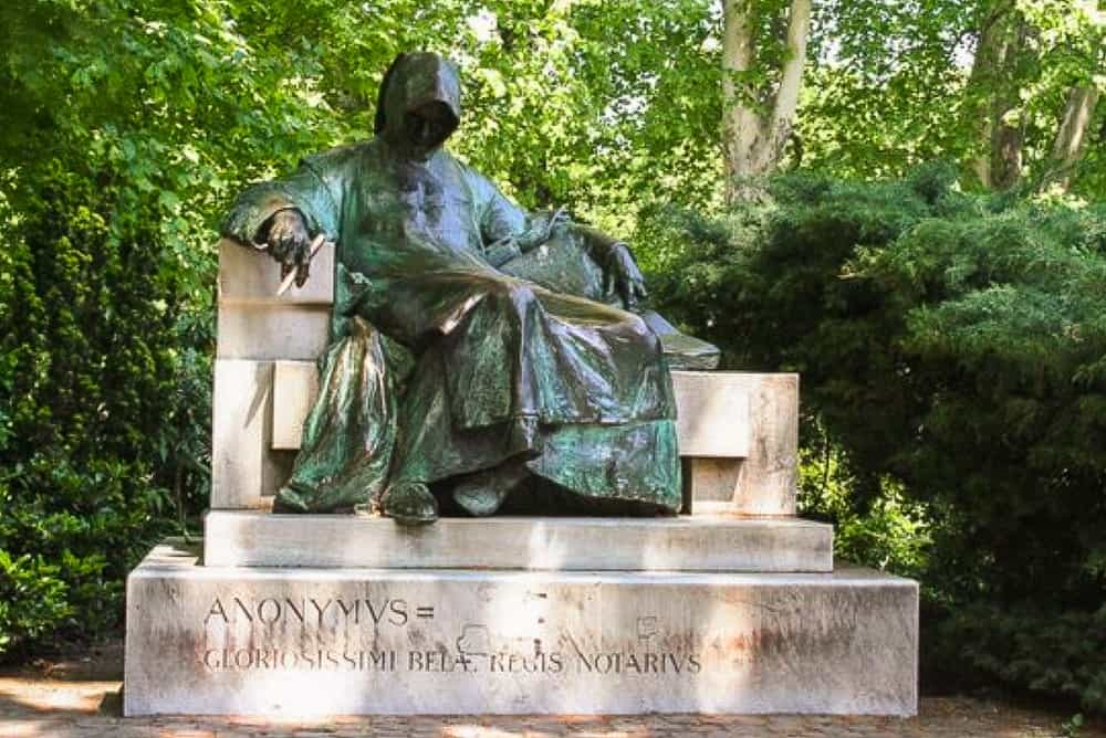 image showing the anonymous writer in budapest