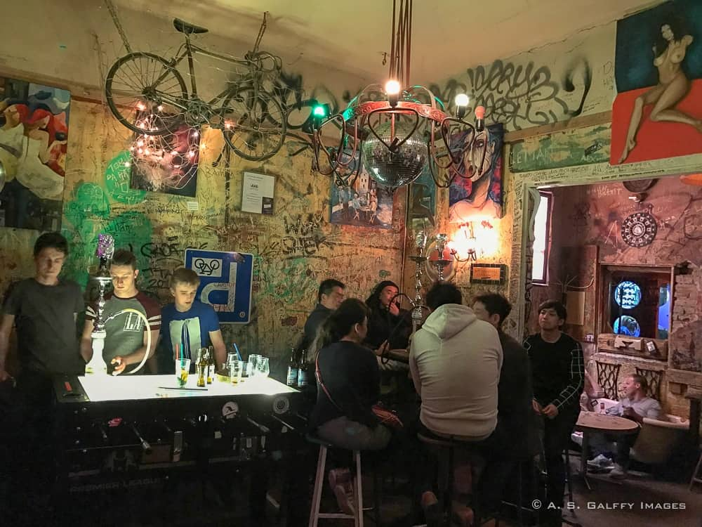 Inside the 'Ruin Pubs' of Budapest