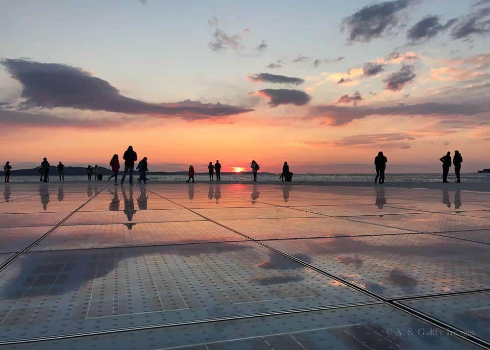Sunset in Zadar
