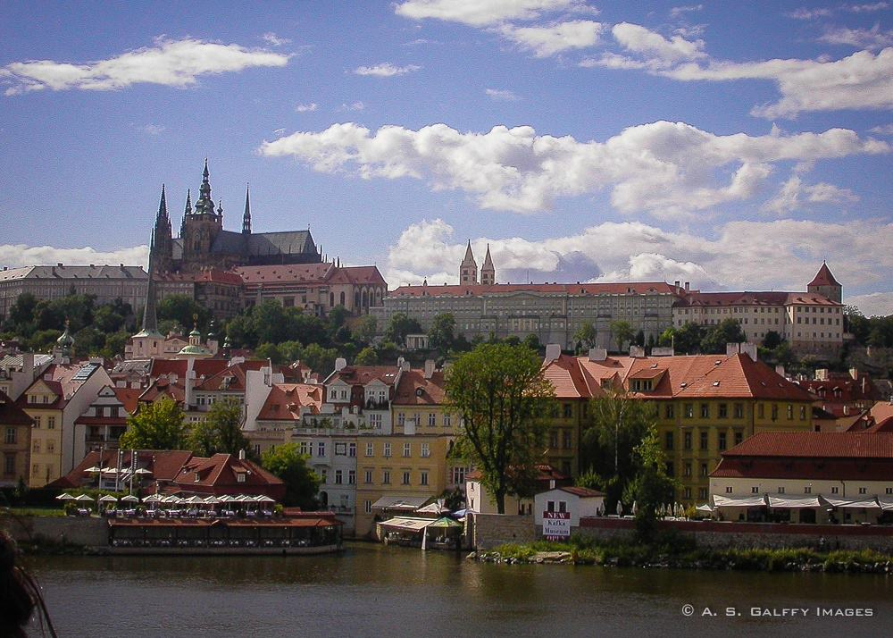 caption of Prague Castle