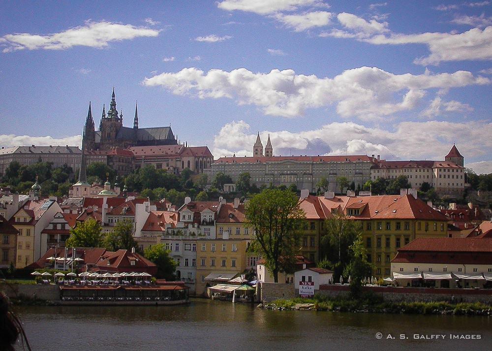 Visiting the Prague Castle