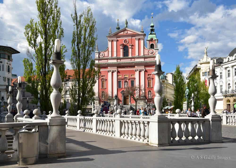 Image depicting the Franciscan Church of the Anunciation in Ljubljana