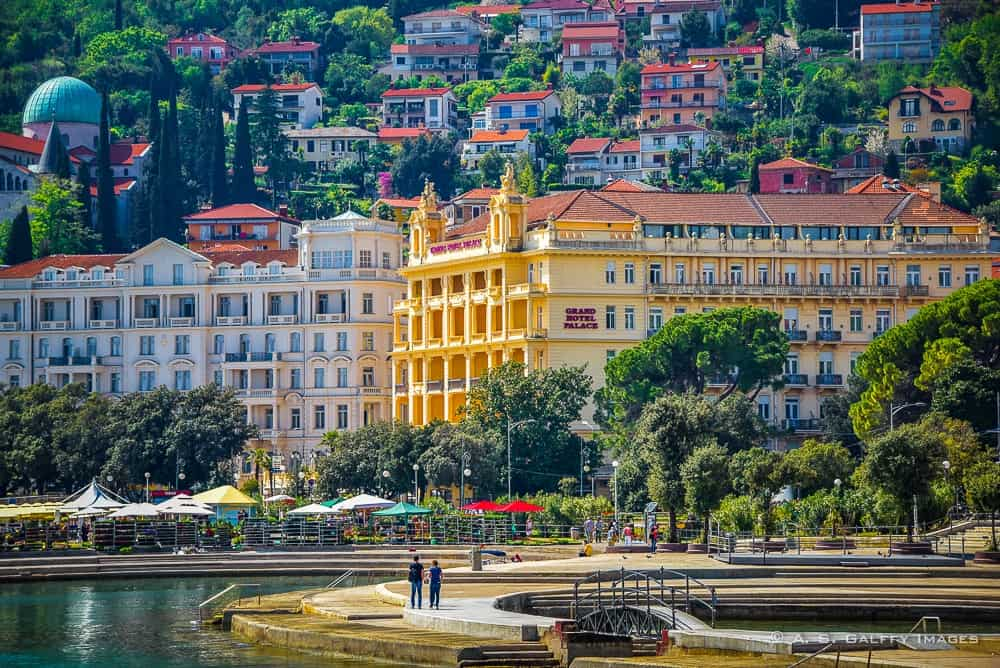Strolling Lungomare From Opatija To Volosko A Walk To