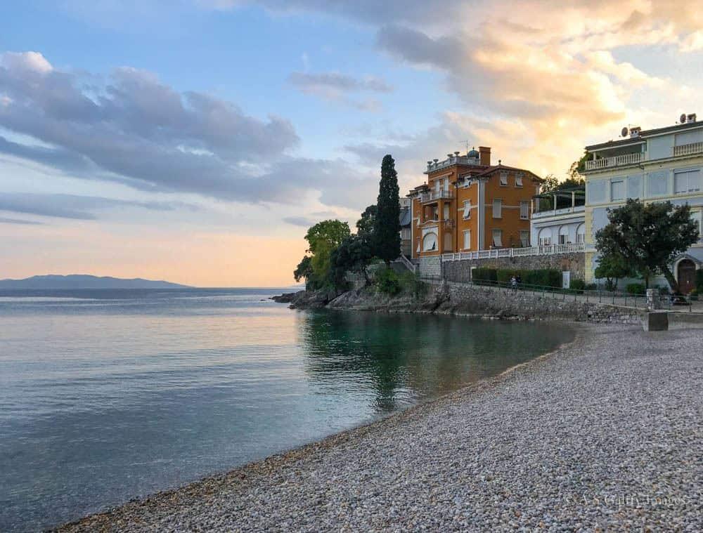 Travel to the Balkans: Lungomare promenade