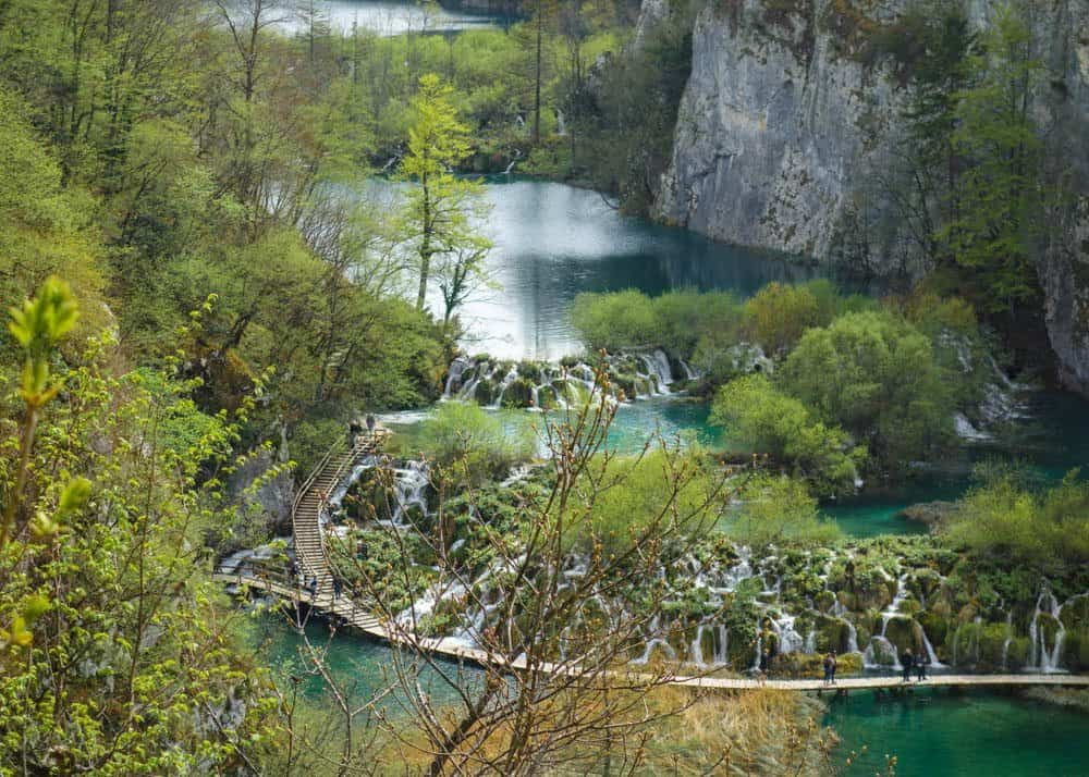 Imagine depicting waterfalls at Plitvice, one of Croatia's Most Beautiful Sites