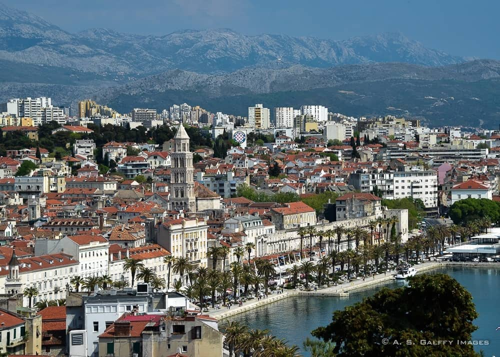 View of Split, one of Croatia's Most Beautiful Sites