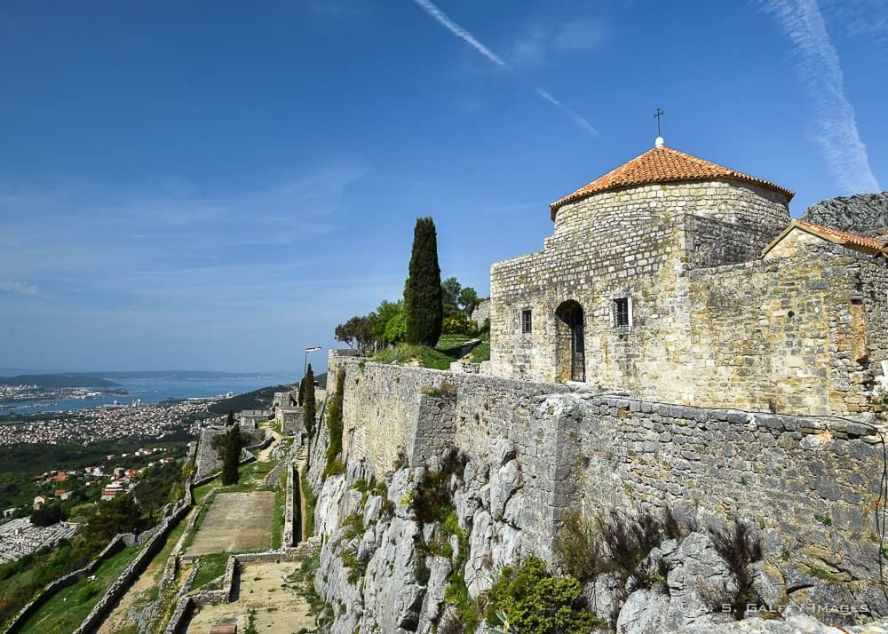View of Klis Fortress