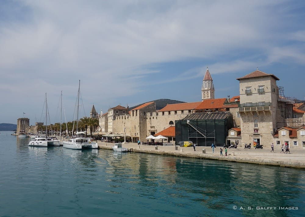 View of the Historic City of Trogir,