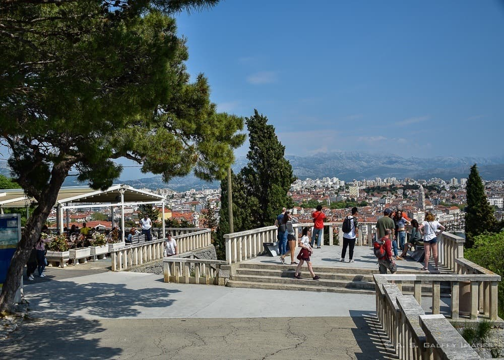 View of Split from Telegrin