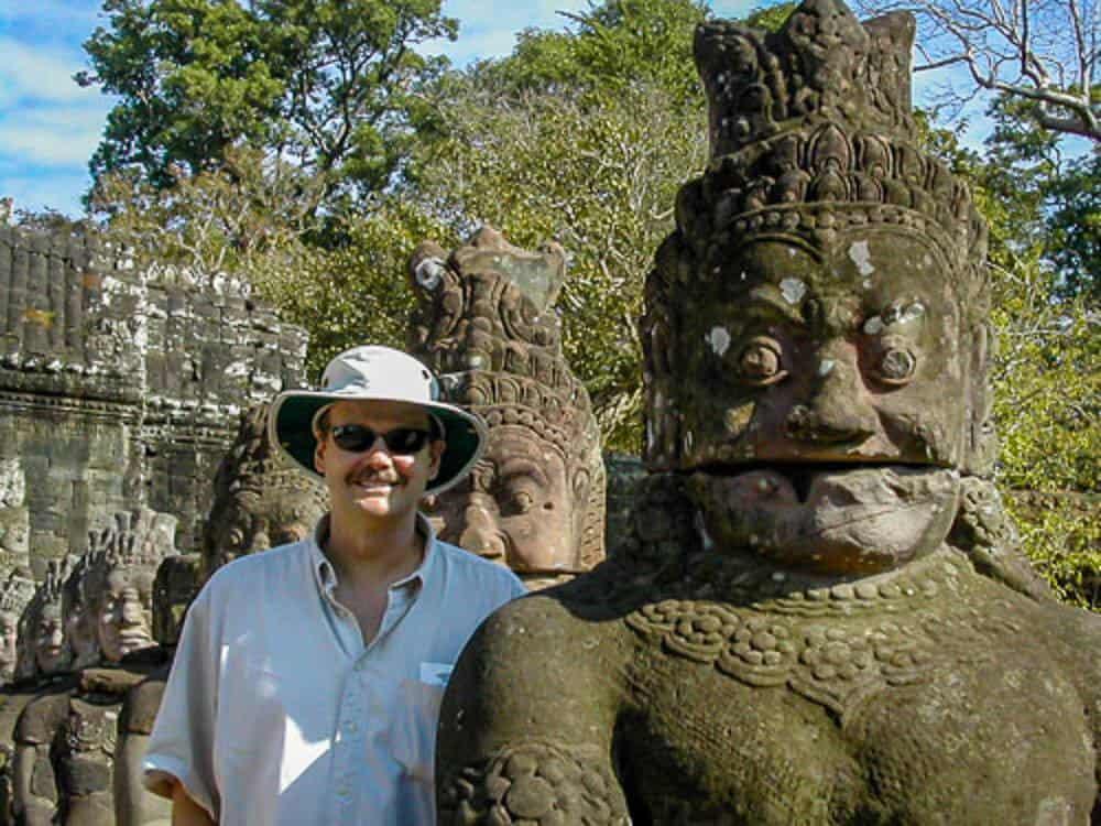 Roy Stevenson in Asia