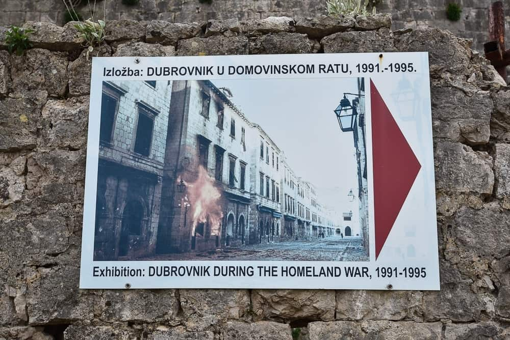 The Museum at Fort Imperial in Dubrovnik
