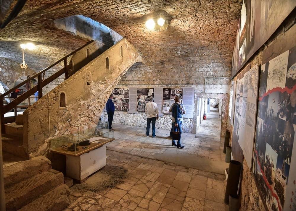 Inside Fort Imperial