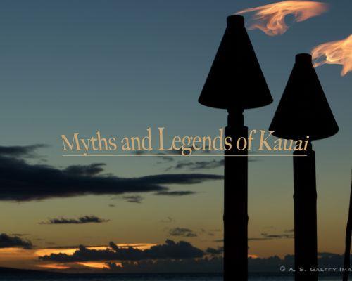 Hawaiian Legends: Four Fascinating Stories of Kauai