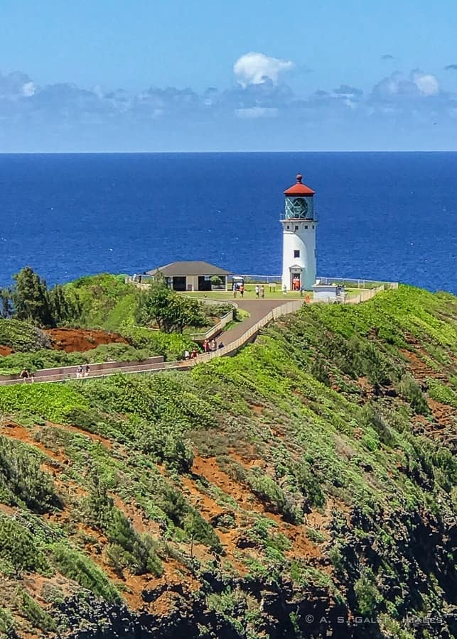 View of the Kilauea Point Lighthouse