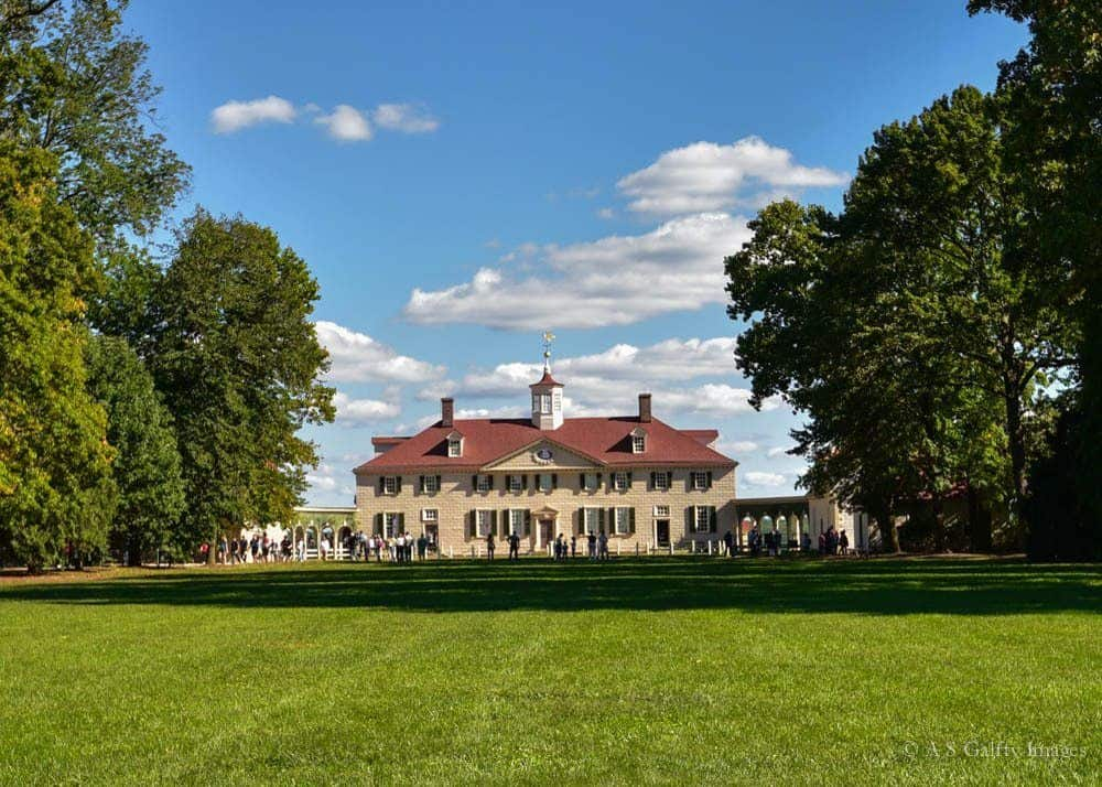3 days in Washington DC - Mount Vernon estate