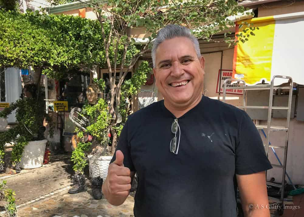 Sanchez, Tio's Tacos Restaurant creator and artist