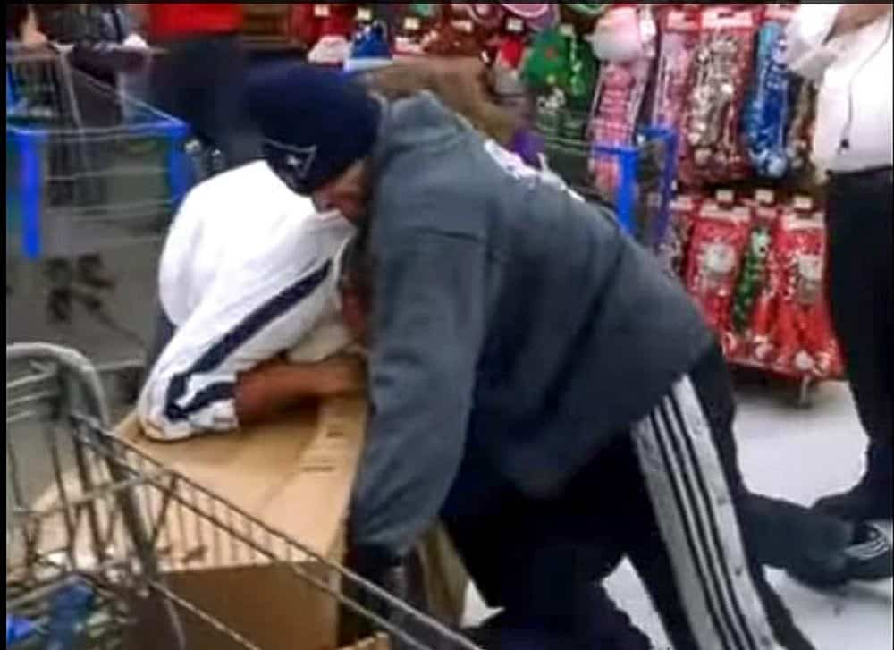 Fighting for merchandise in the store is one of the worst things about Christmas