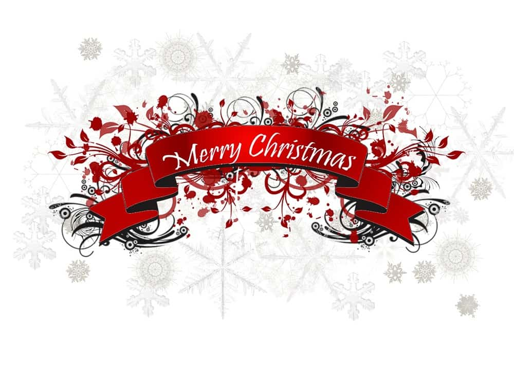 Wishing people Merry Christmas is one of the best things about Christmas