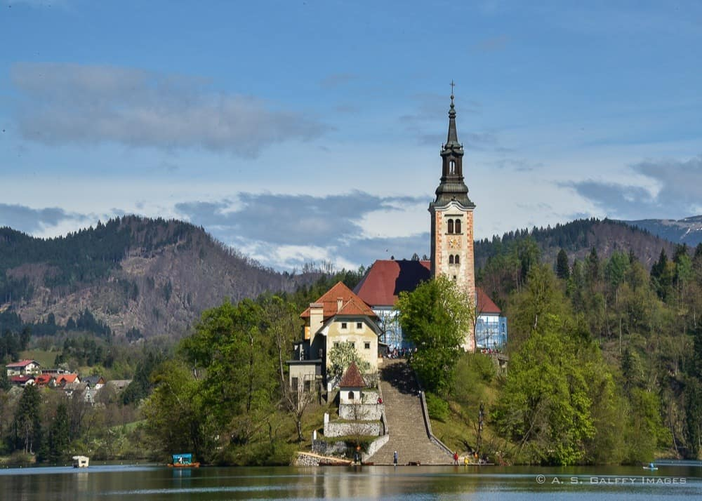 Church of the Assumption on Bled Island