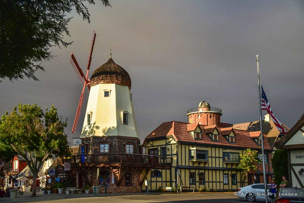 Solvang, one of the most romantic getaways in Southern California