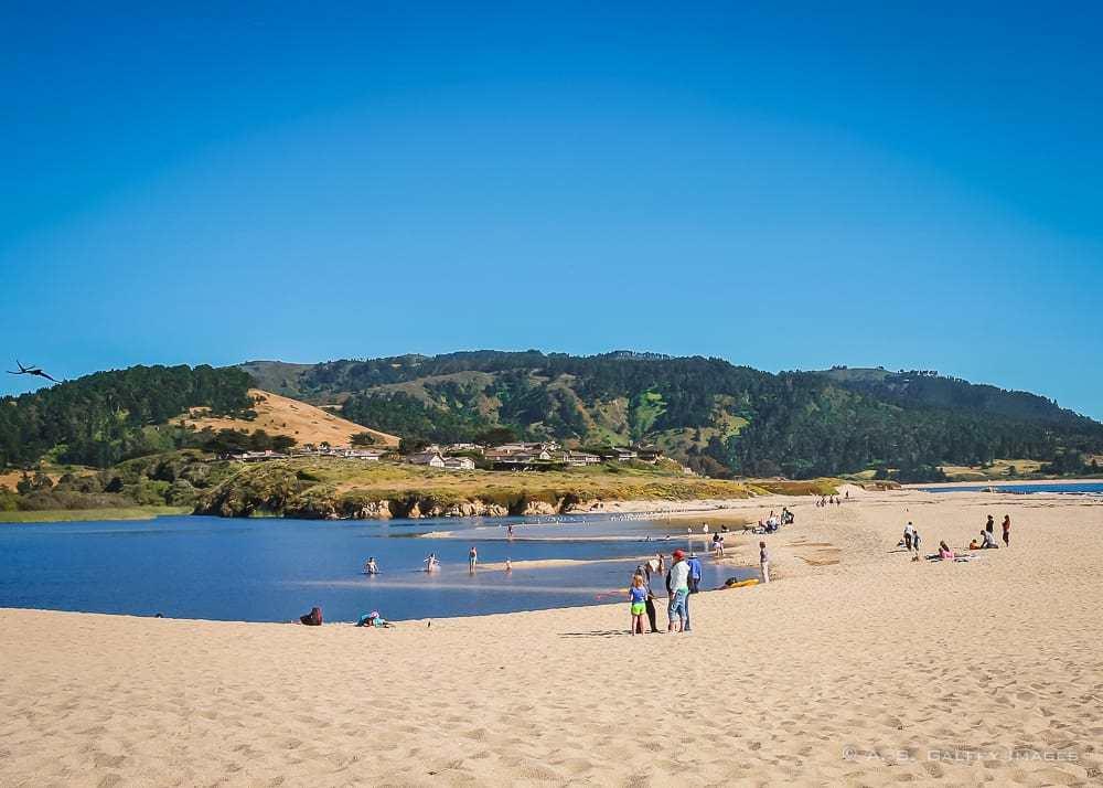 Carmel Rive Beach a romantic getaway in California