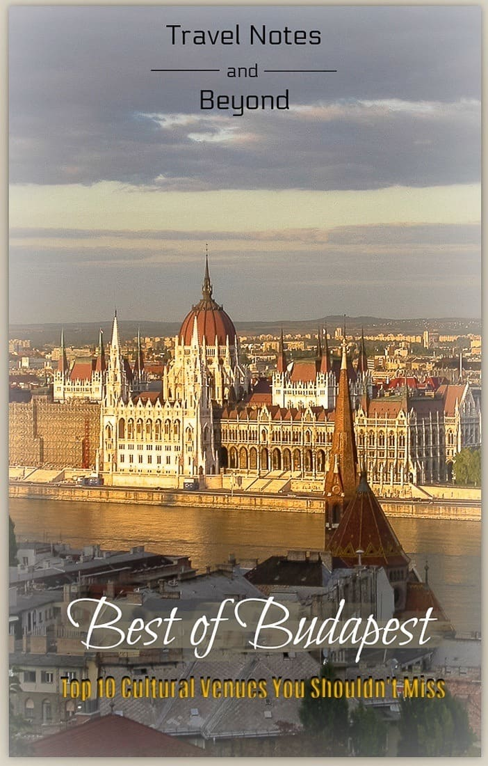 Best cultural venues in Budapest