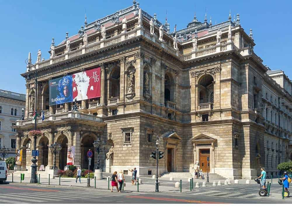 Hungarian Opera House in Budapest