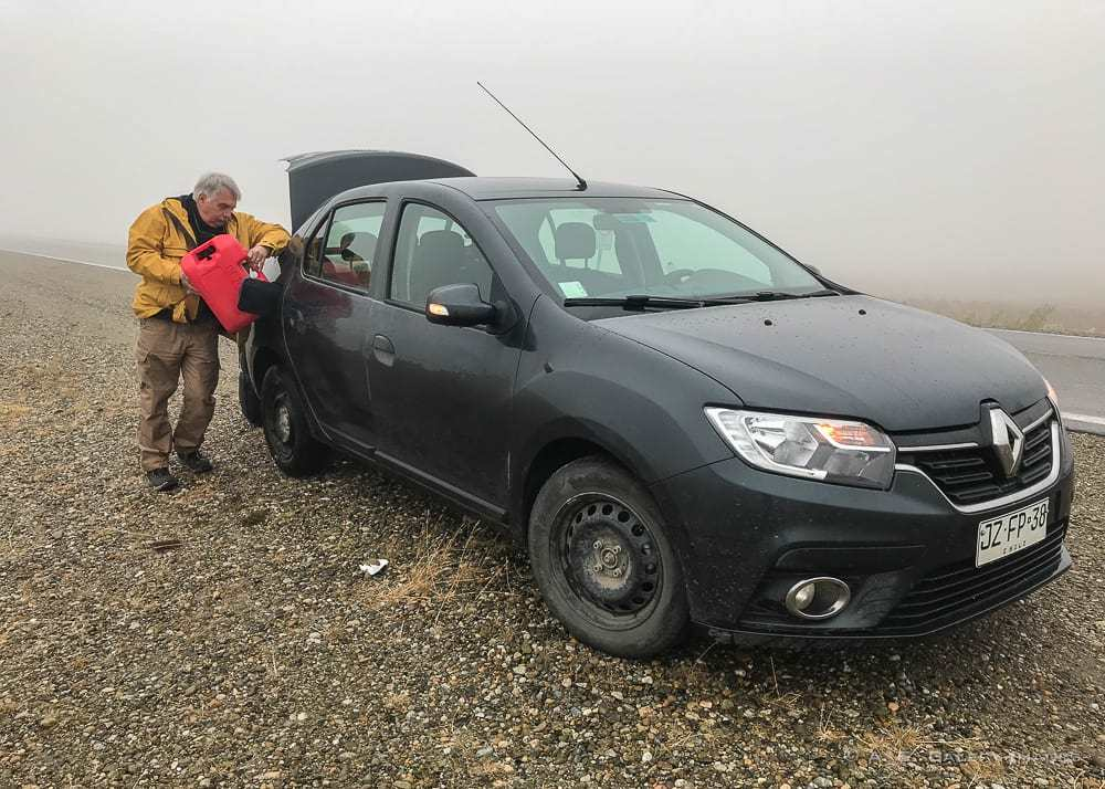Getting to Torres del Paine by car
