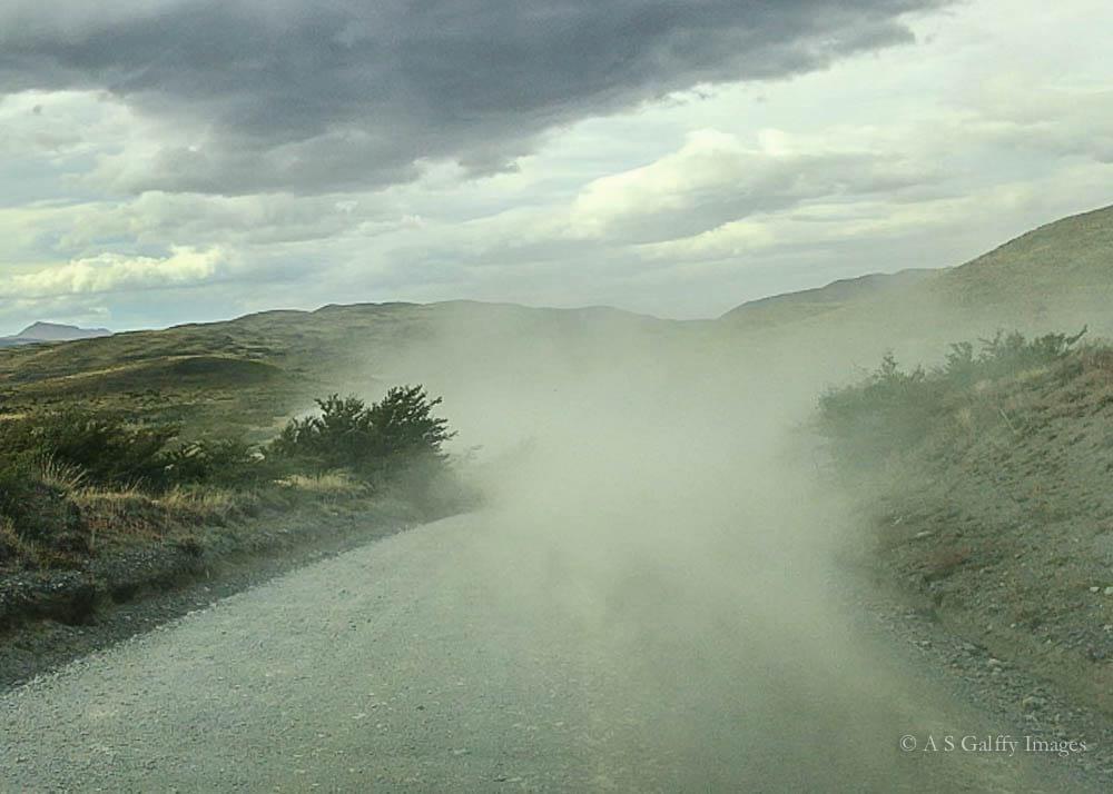 Dust Storm in Torres del Paine