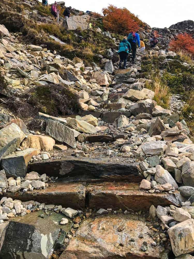 Hiking to Laguna de Los Tres