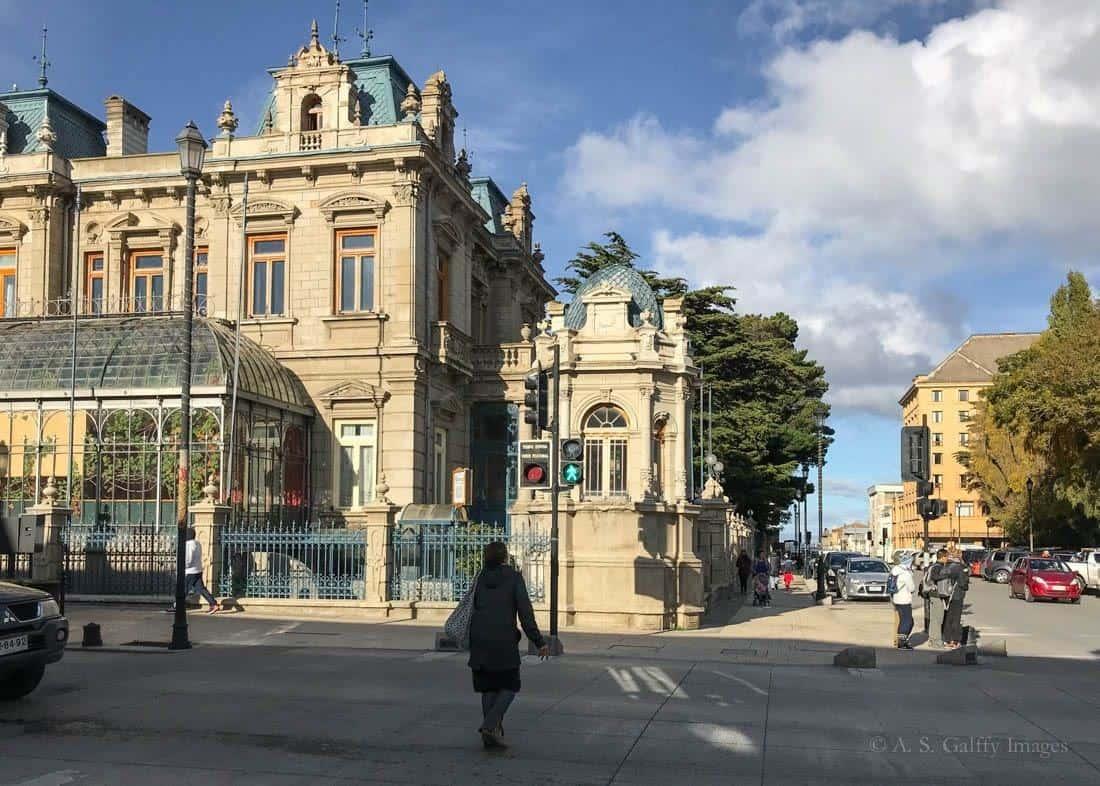 Visiting Palacio Sara Braun in Punta Arenas