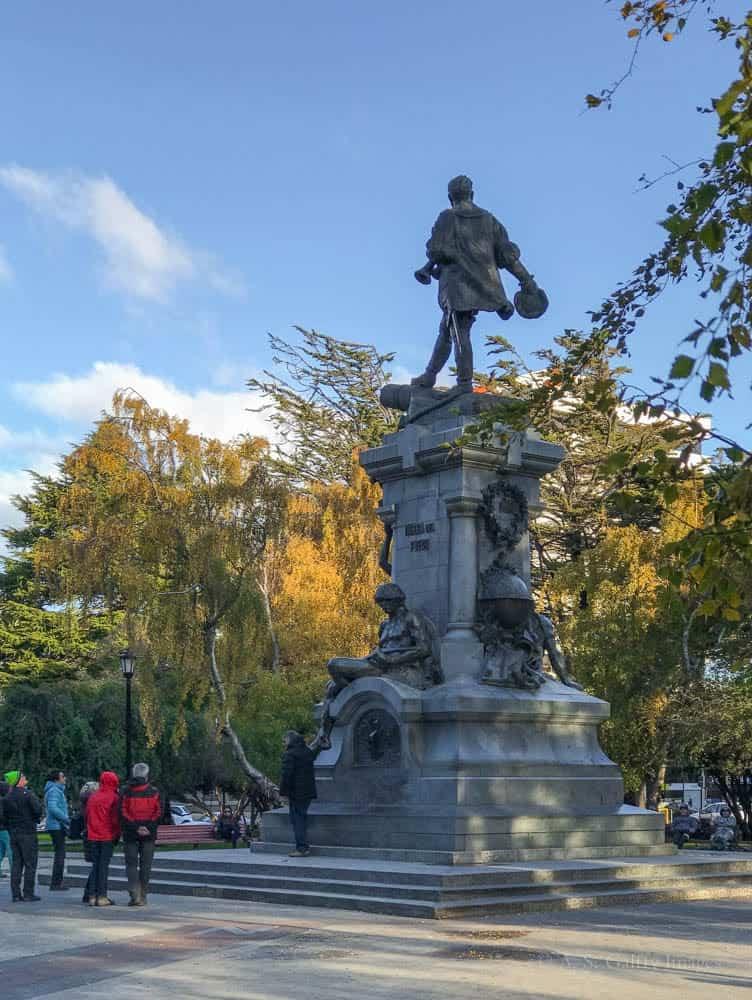 Things to do in Punta Arenas: visiting Magellan Memorial