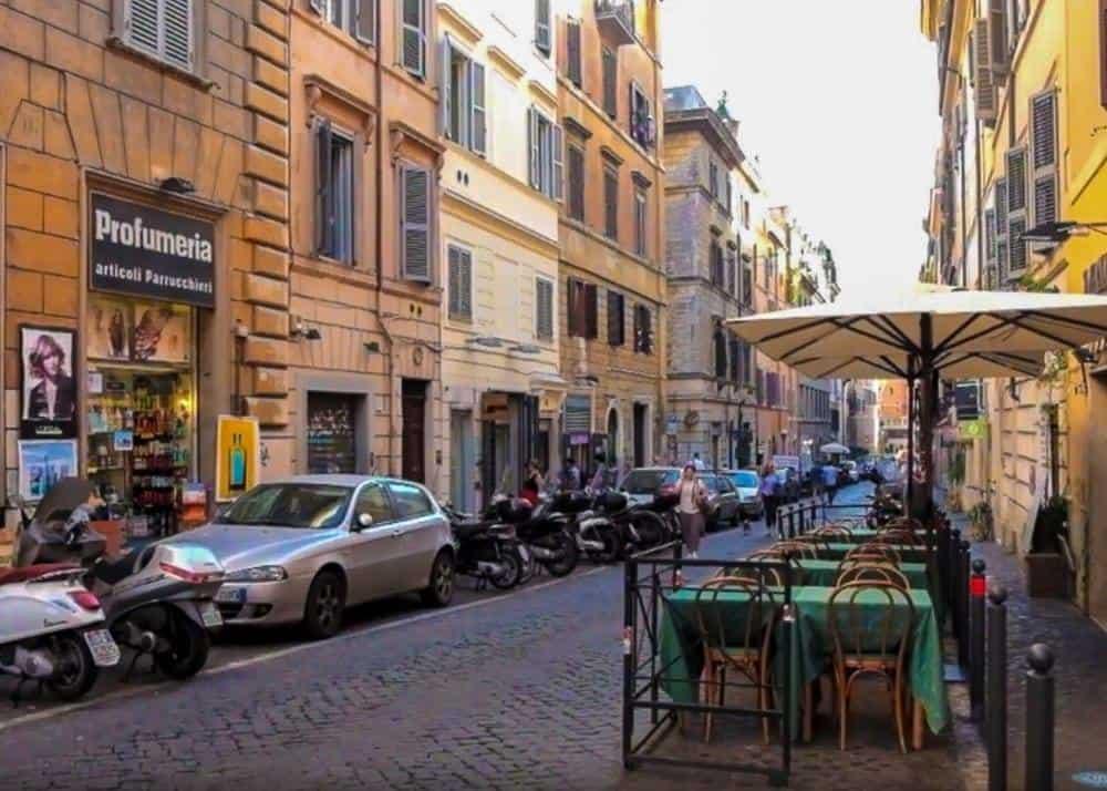 street in Monti