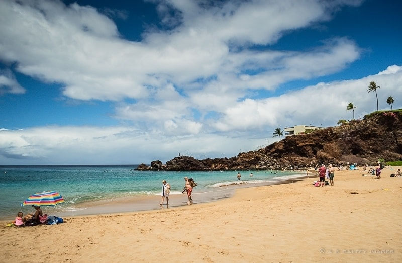 Romantic things to do in Maui: spending time on the beach