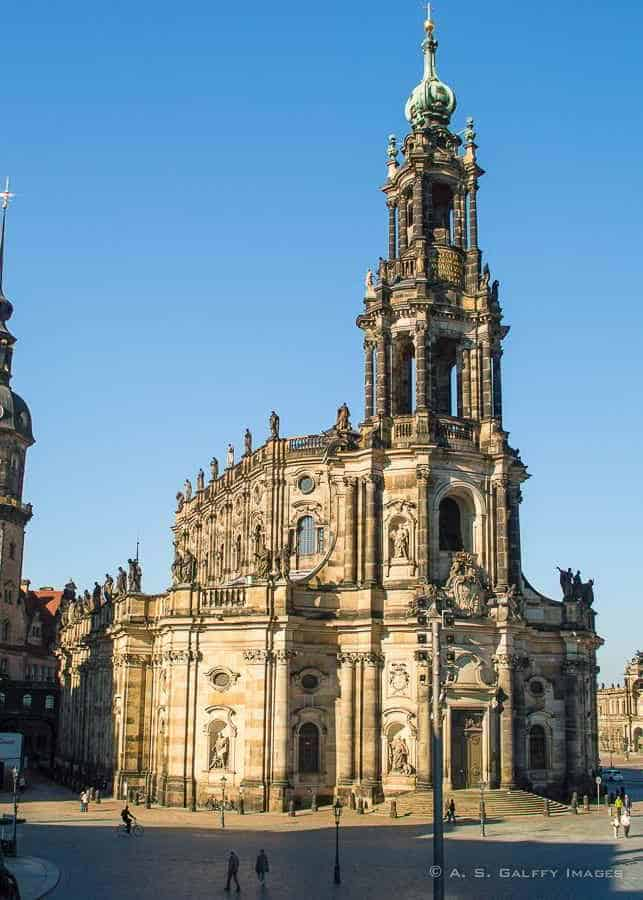 Visiting the Dresden Cathedral