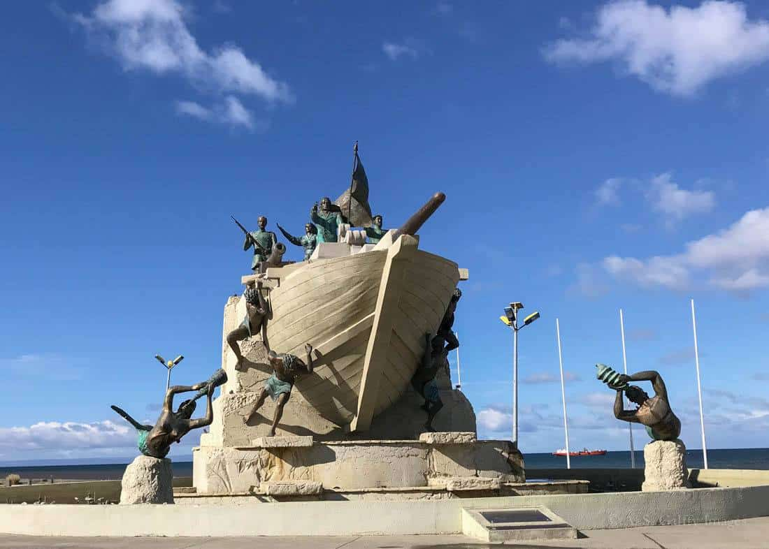 Things to do in Punta Arenas: visit the Maritime Monument