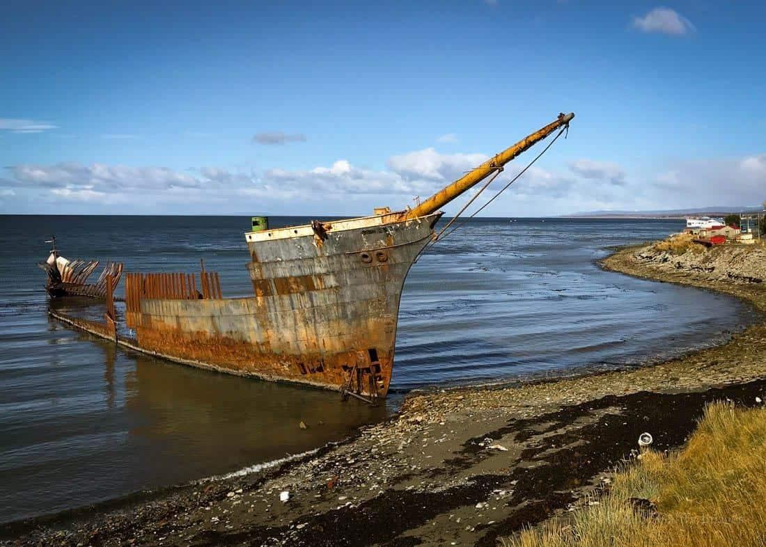 Visiting the Shipwrecks in Punta Arena