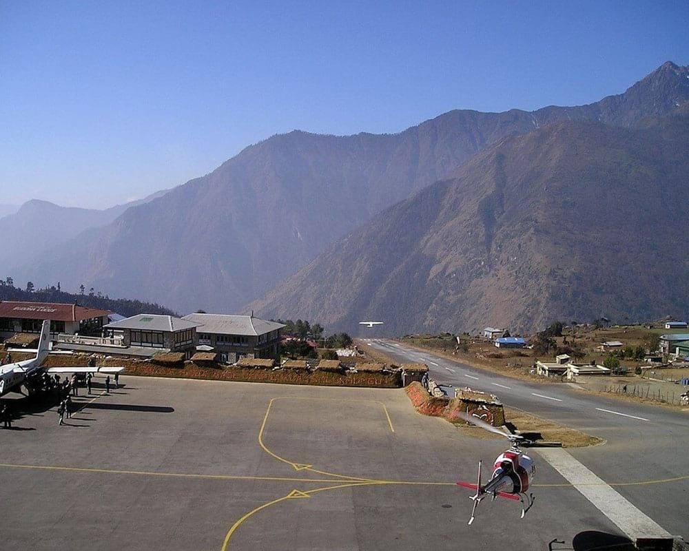 airport at everest base camp trek